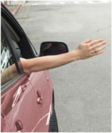 Right Turn Hand Signal