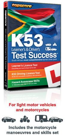 Pass your K53 Learner's & Driver's tests with Topscore